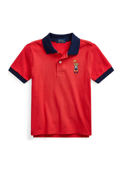 Ralph Lauren Childrenswear Boys 4-7 Sparkler Bear Cotton