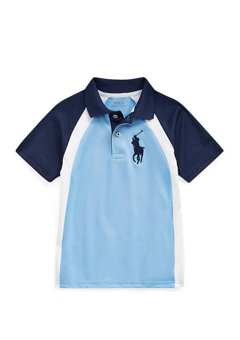 Boys 4-7 Performance Stretch Lisle Polo Shirt