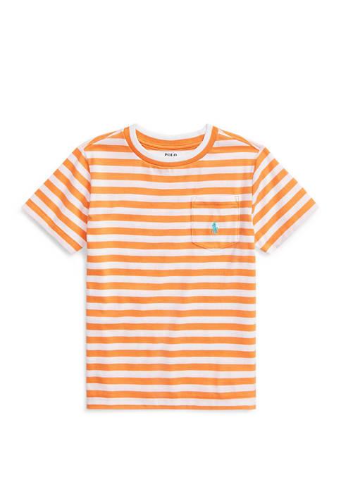 Ralph Lauren Childrenswear Boys 4-7 Striped Cotton Blend