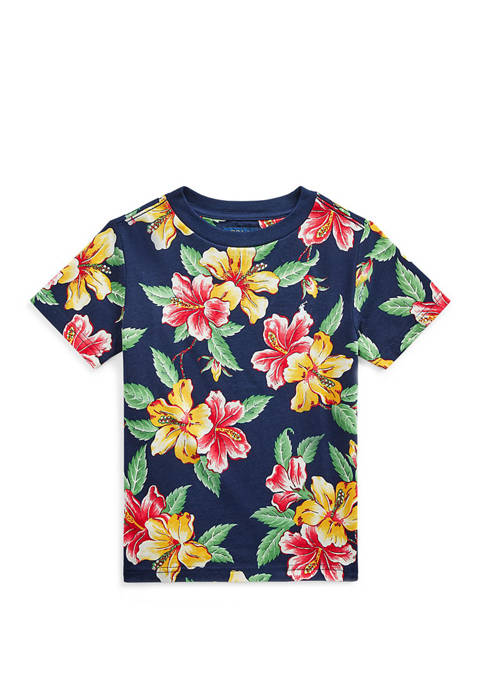 Ralph Lauren Childrenswear Boys 4-7 Floral Print Cotton