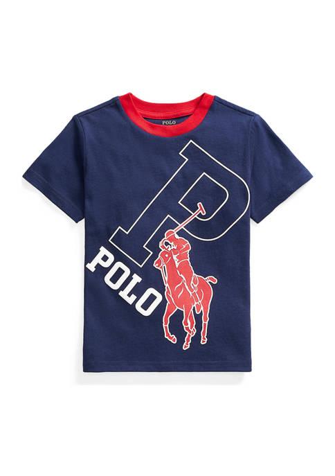 Boys 4-7 Big Pony Cotton Graphic Tee