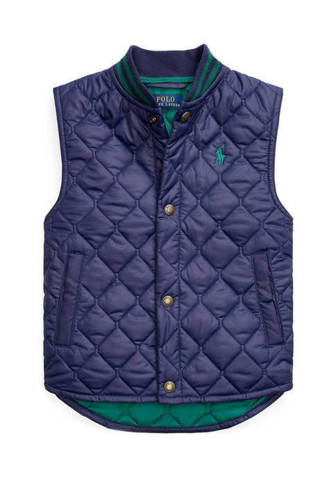 Boys 4-7 Water-Resistant Quilted Vest
