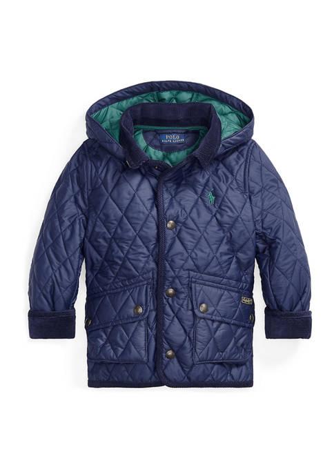 Ralph Lauren Childrenswear Boys 4-7 Water-Resistant Car Coat