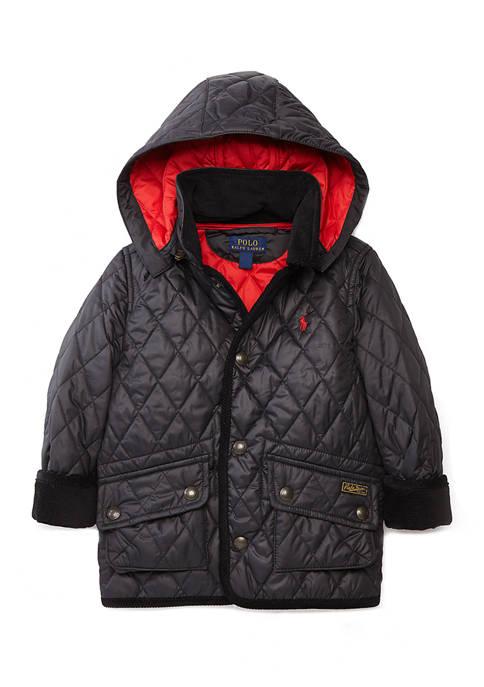 Ralph Lauren Childrenswear Boys 4-7 Quilted Jacket