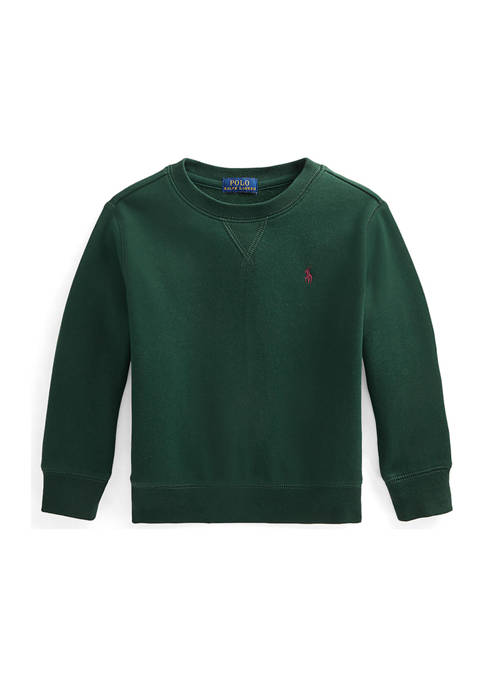 Ralph Lauren Childrenswear Boys 4-7 Cotton-Blend-Fleece Sweatshirt