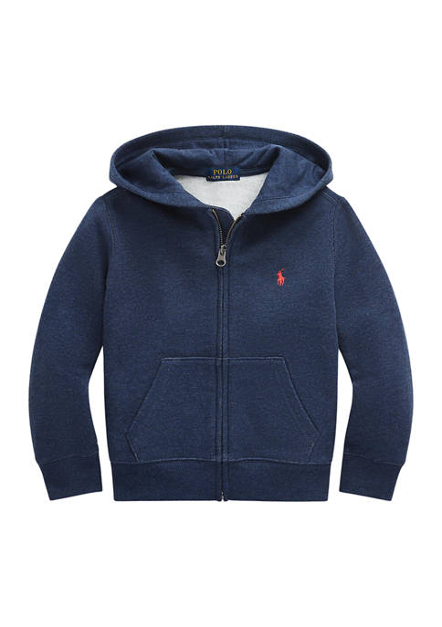 Ralph Lauren Childrenswear Boys 4-7 Cotton-Blend-Fleece Hoodie
