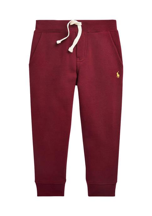 Boys 4-7 Cotton Blend Fleece Jogger Pants