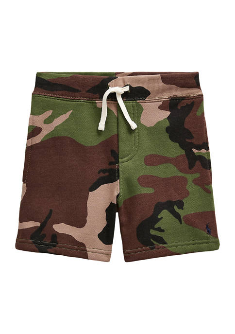 Ralph Lauren Childrenswear Boys 4-7 Camo Fleece Shorts