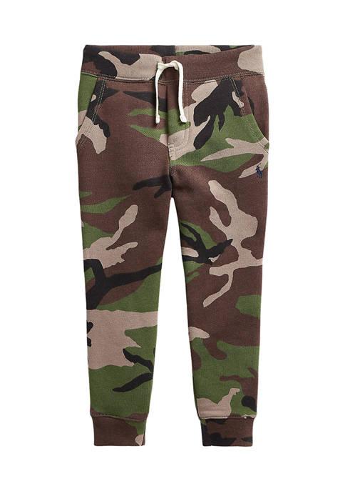 Ralph Lauren Childrenswear Boys 4-7 Camo Fleece Joggers