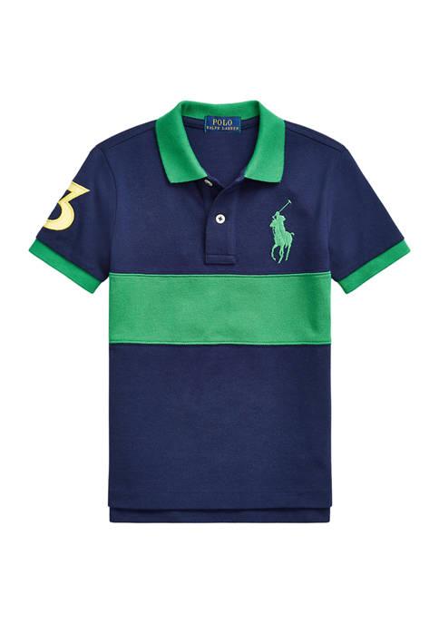 Ralph Lauren Childrenswear Boys 4-7 Striped Big Pony