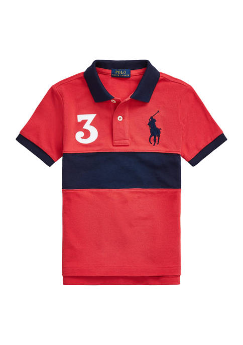 Ralph Lauren Childrenswear Boys 4-7 Big Pony Cotton