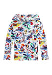 Boys 4-7 Polo Bear Cotton Jersey Hooded T-Shirt