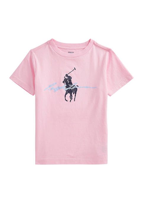 Ralph Lauren Childrenswear Boys 4-7 Big Pony Logo