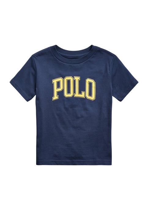 Ralph Lauren Childrenswear Boys 4-7 Logo Cotton Jersey