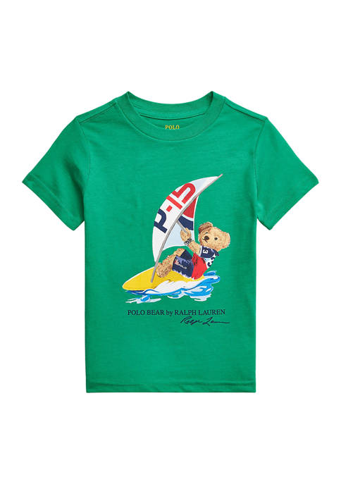 Boys 4-7 Polo Bear Cotton Jersey T-Shirt
