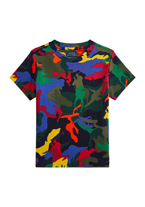 Boys 4-7 Polo Pony Camo Cotton Jersey T-Shirt