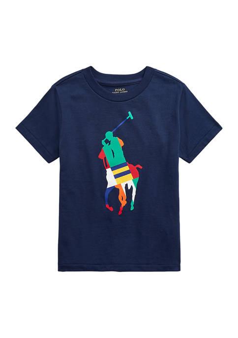 Boys 4-7 Big Pony Cotton Jersey T-Shirt