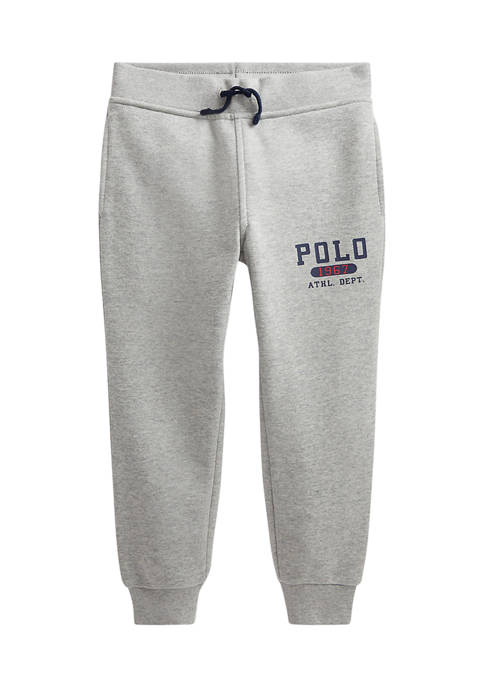 Ralph Lauren Childrenswear Boys 4-7 Logo Fleece Jogger