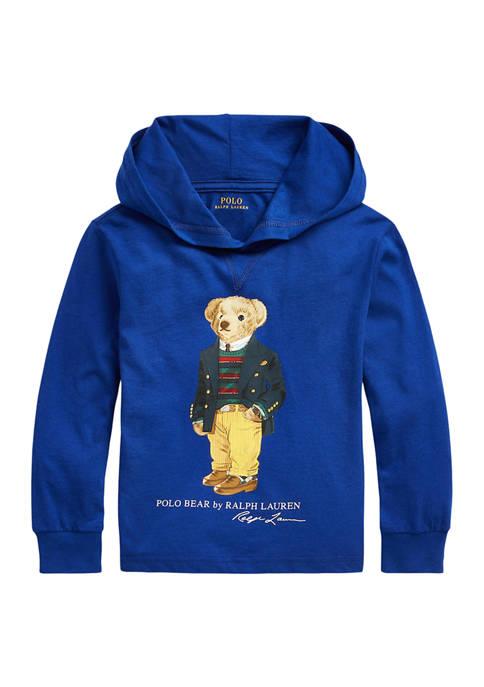 Ralph Lauren Childrenswear Boys 4-7 Polo Bear Cotton