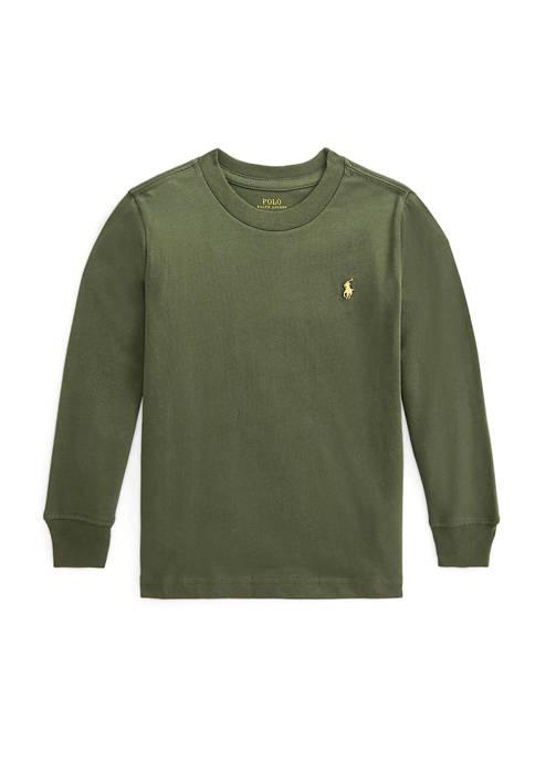 Ralph Lauren Childrenswear Boys 4-7 Cotton Jersey Long