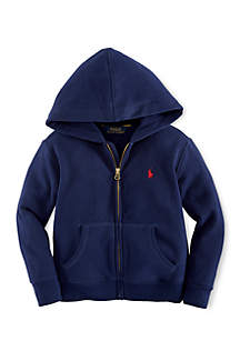 Long Sleeve Full-Zip Hoodie Boys 8-20