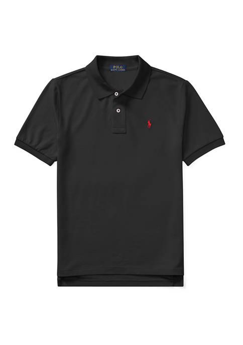 Boys 8-20 Cotton Mesh Polo Shirt