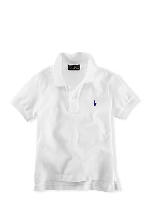 Ralph Lauren Childrenswear Boys 8-20 Essential Knit Polo