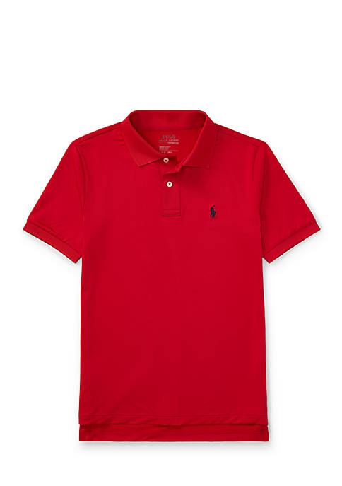 Ralph Lauren Childrenswear Lisle Short Sleeve Polo Boys