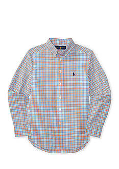 Polo Ralph Lauren Cotton Poplin Button Down Shirt Boys 8-20