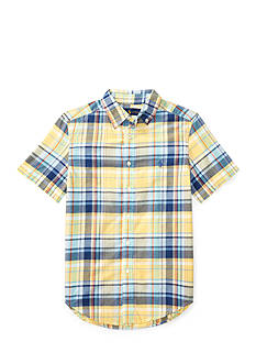 Polo Ralph Lauren Cotton Madras Shirt Boys 8-20