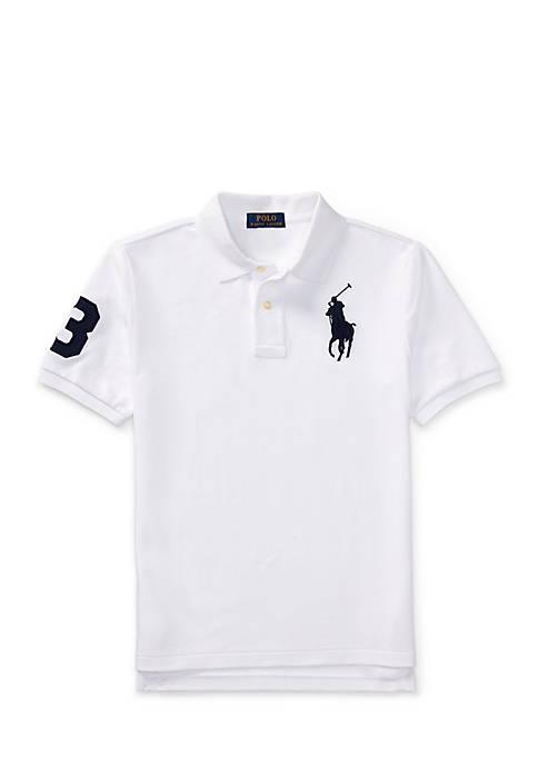 Ralph Lauren Childrenswear Cotton Mesh Polo Shirt Boys