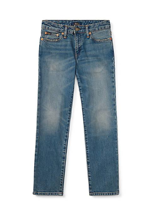 Boys 8-20 Hampton Straight Stretch Jeans