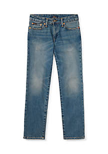 Ralph Lauren Childrenswear Boys 8-20 Hampton Straight Stretch Jeans