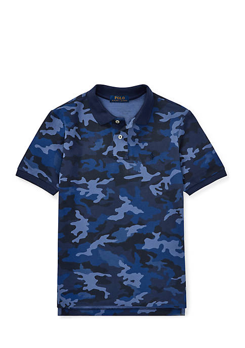 Ralph Lauren Childrenswear Boys 8-20 Camo Mesh Polo