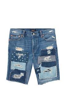 Boys 8-20 Slouch Slim Fit Denim Shorts