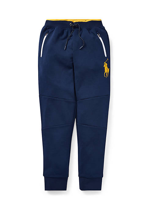Ralph Lauren Childrenswear Boys 8-20 Double-Knit Pull-On Pant