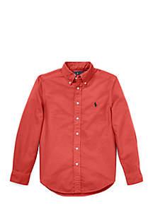 Boys 8-20 Cotton Oxford Shirt