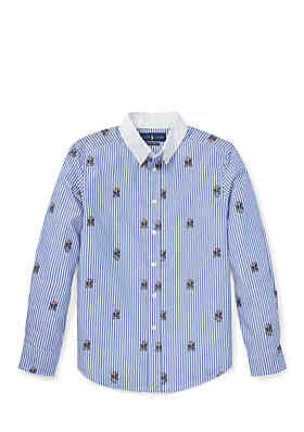 efbe28ff Ralph Lauren Childrenswear Boys 8-20 Striped Stretch Cotton Shirt ...