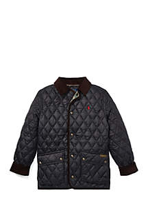 Boys 8-20 Quilted Car Coat