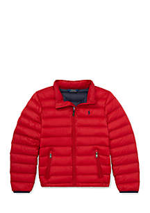 Boys 8-20 Packable Quilted Down Jacket