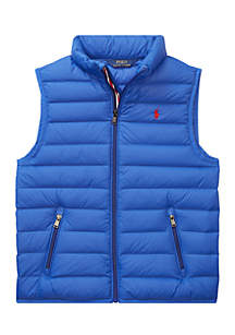 Boys 8-20 Packable Quilted Down Vest