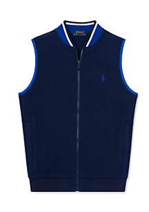 Boys 8-20 Fleece Full-Zip Vest
