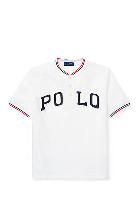 Ralph Lauren Childrenswear Boys 8-20 Cotton Mesh Henley