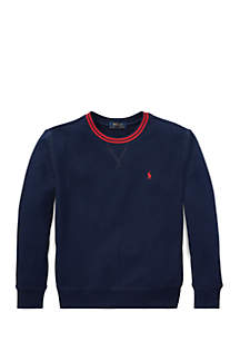 Boys 8-20 Cotton-Blend Fleece Sweatshirt