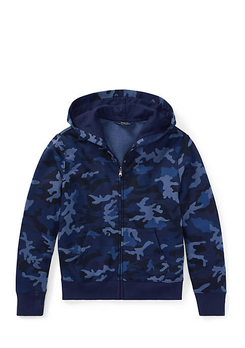 Ralph Lauren Childrenswear Boys 8-20 Camo Cotton-Blend-Terry