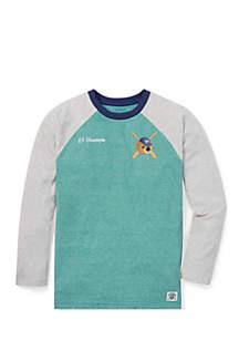 Boys 8-20 Polo Bear Baseball T-Shirt