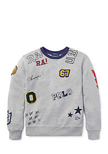 Boys 8-20 Cotton Graphic Sweatshirt
