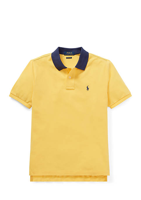 Ralph Lauren Childrenswear Boys 8-20 Cotton Mesh Polo