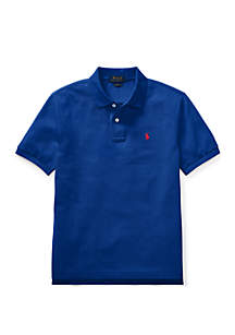 Boys 8-20 Cotton Mesh Polo Shirt