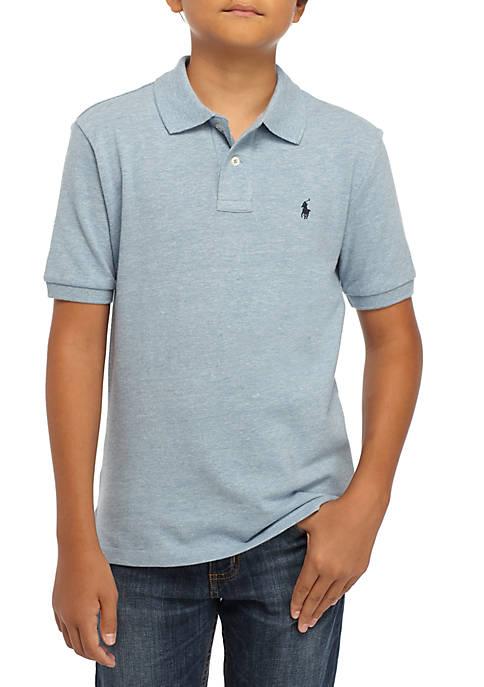 Ralph Lauren Childrenswear Boys 8-20 Basic Mesh Knit